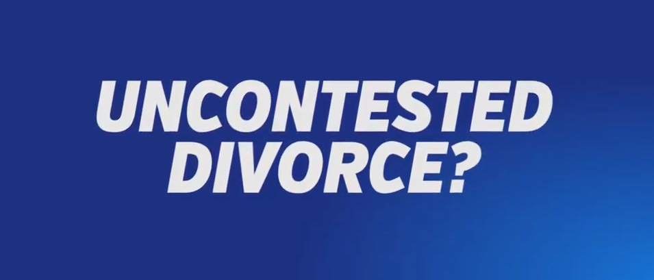 Image of Uncontested Divorce